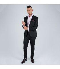 traje formal linea colombia para hombre pierre d' agostiny negro
