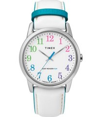 reloj casual blanco timex