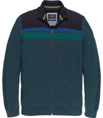 zip jacket cotton mouline salute