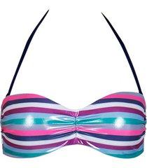 bikini lisca malia cheek underwire bandeau swimsuit top