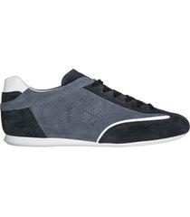 scarpe sneakers uomo camoscio olympia