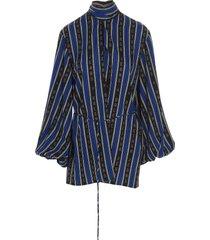 balenciaga blouse