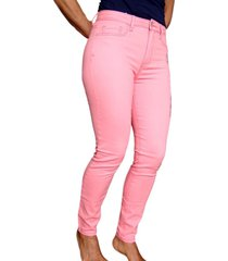 pantalón ajustado aeropostale para mujer-rosa