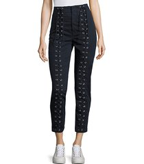 kingsley lace-up pants
