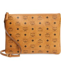mcm visetos original pouch - brown