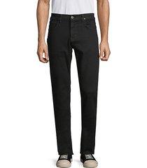 blake slim-straight dark jeans