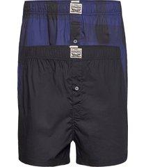 levis men premium buffalo check wov shorts chinos shorts blå levi´s