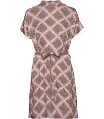 blumea short dress aop 8325 kort klänning rosa samsøe samsøe