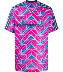 adidas tie-dye jersey - pink
