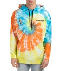 palm angels tie dye hoodie