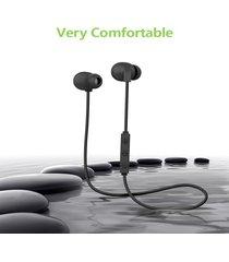 audífonos bluetooth deportivos manos libres  impermeable - negro