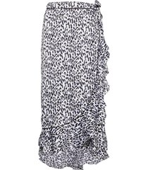 calista lela knälång kjol svart becksöndergaard