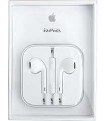 audifonos apple earpods conector 3.5mm - color blanco