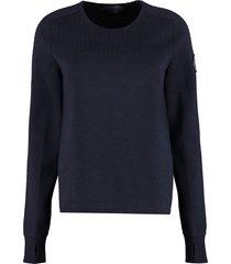 canada goose elmvale crew-neck sweater