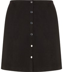 curve faux suede mini skirt
