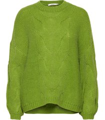 anuragz pullover ma 2020 stickad tröja grön gestuz