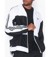 adidas originals asymm track jkt jackor black/white