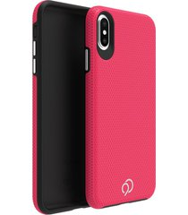 estuche protector nimbus9 latitude iphone x/xs - rosado