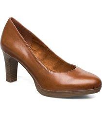 woms court shoe shoes heels pumps classic brun tamaris