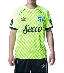 camiseta de arquero verde umbro atletico tucuman '20