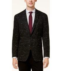 kenneth cole reaction men's slim-fit dark gray soft tailored sport coat