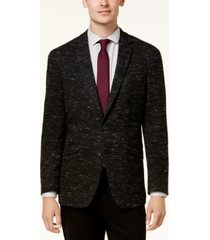 kenneth cole reaction men's slim-fit dark gray soft tailored sport coat