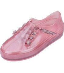 tênis melissa menina mel ulitsa sneaker special inf rosa