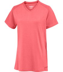 wolverine women's piper short sleeve tee raspberry, size l