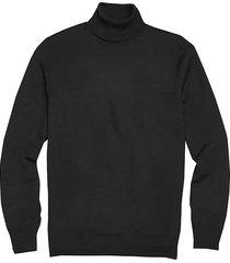 jos. a. bank traveler men's modern fit merino wool turtleneck sweater - size: 4x