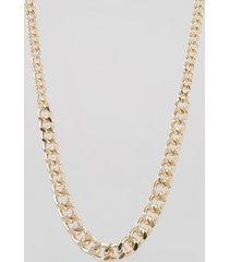 colar feminino em corrente dourado