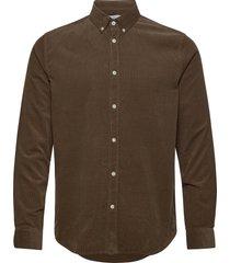 liam bx shirt 10504 overhemd casual bruin samsøe samsøe