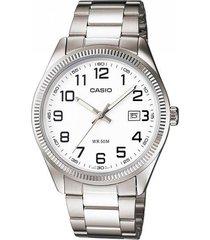 reloj kcasmtp 1302d 7b casio-plateado