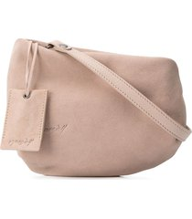 marsèll fantasmino high-low clutch - neutrals