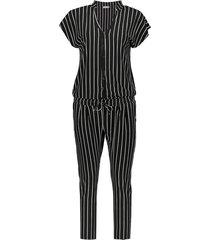 01080 jumpsuit striped
