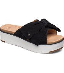 w joanie shoes summer shoes flat sandals svart ugg