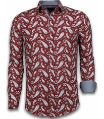 overhemd lange mouw tony backer blouse flower pattern