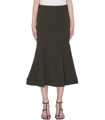 'magnolia' flared midi skirt