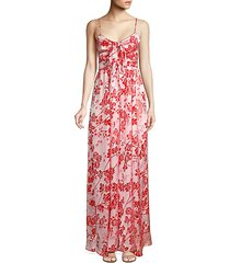 campbell floral wide leg jumpsuit