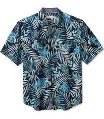 tommy bahama men's lavish leaves silk shirt
