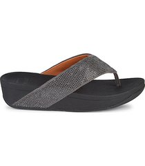 ritzy thong platform sandals