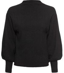 maglione con maniche a palloncino (nero) - bodyflirt