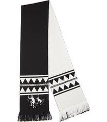alanui crazy monkey embassy scarf
