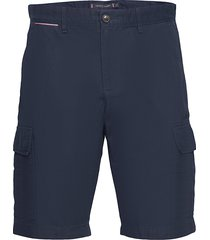 john cargo short light twill shorts cargo shorts blå tommy hilfiger