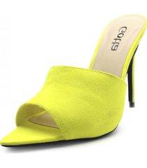 sandalia amarillo gotta