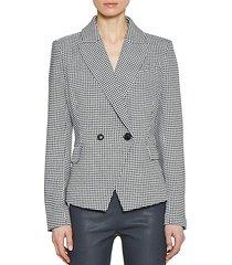 plaid clorinda jacket