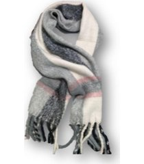 bufanda gris trendy