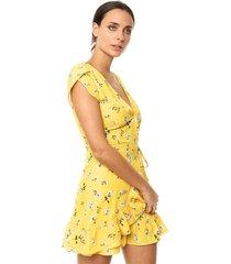vestido amarillo muet store amalfi