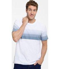 camiseta masculina flamê estampa degradê manga curta mr