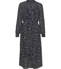haze mirrah dress knälång klänning blå bruuns bazaar