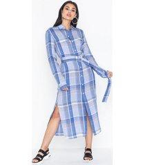 polo ralph lauren ls crz dr-long sleeve-casual dress långärmade klänningar
